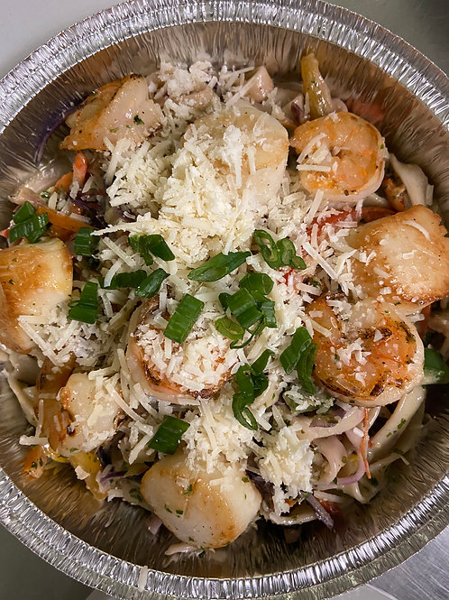 Mother's Day Scallop and Shrimp Pasta (SUNDAY MAY 9 4:45-6:00 IS BOOKED)
