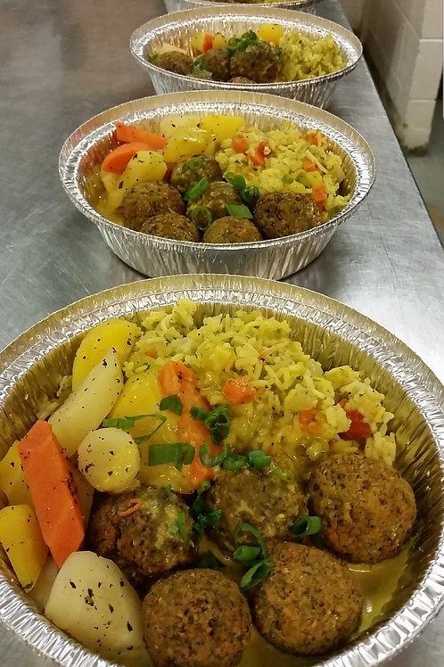 Falafel Dinner- Vegan, Gf(Med)
