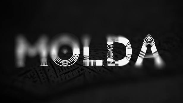 MOLDA - display font
