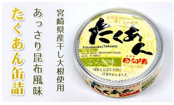 道本食品 - 醃蘿蔔 (海帶味) Takuan (Kelp Taste)