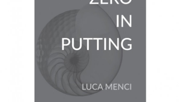 Capto Golf Zero In Putting Book By Luca Menci