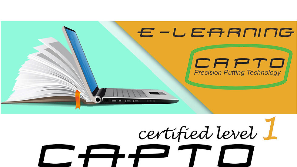 Capto Golf Level One Certification