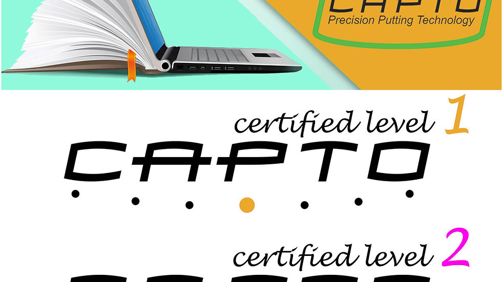 Capto Golf Level One & Two Certification Bundle
