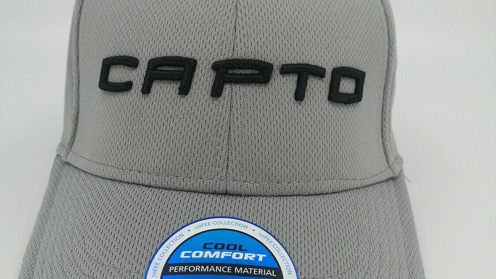 Capto Light Grey Logo Cap