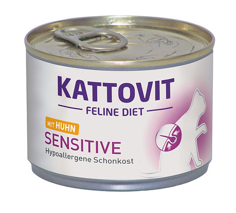 Kattovit Feline Sensitive (hypoallergene Schonkost) 175g Dose