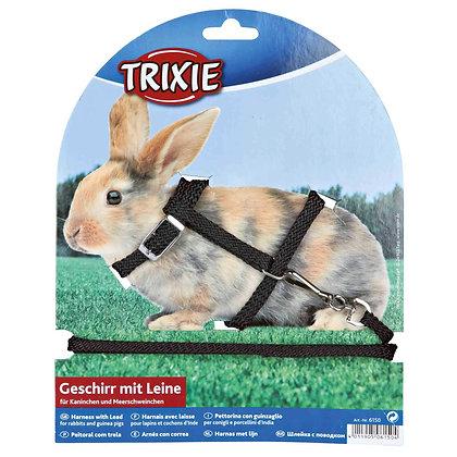 Kaninchengeschirr mit Leine, Nylon