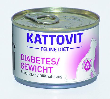 Feline Diabetes / Gewicht (Blutzucker/Diätnahrung) 175g Dose