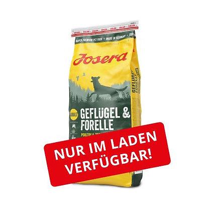 JOSERA Geflügel & Forelle 15kg