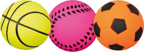 Ersatzball Ballschleuder Ball, Moosgummi, schwimmt