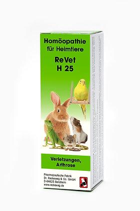ReVet® H 25 Globuli (Streukügelchen) für Heimtiere