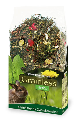 JR Grainless Herbs Zwergkaninchen - 400 g