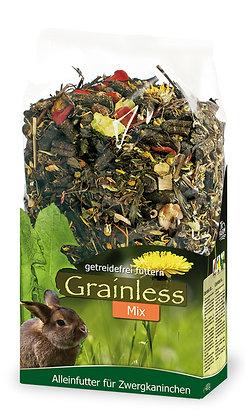 JR Grainless Mix Zwergkaninchen - 650 g