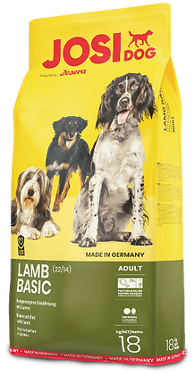 JosiDog Lamb Basic 18kg