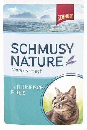 Schmusy Nature Meeres-Fisch - 100g Portionsbeutel