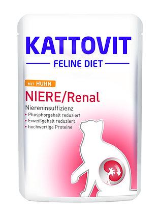 Kattovit Feline Niere / Renal (Niereninsuffizienz) 85g Frischebeutel