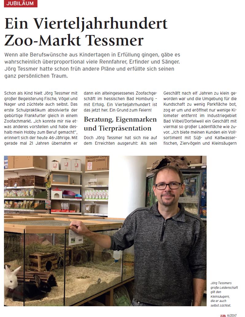 25 Jahriges Jubeläum Zoomarkt Tessmer, Bad Vilbel, Rhein-Main, nähe Frankfurt (FFM)