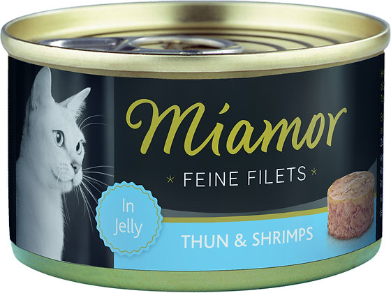 Miamor Feine Filets in Jelly 100 g Dose - verschiedene Sorten