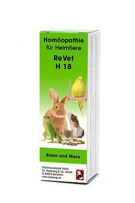 ReVet® H 18 Globuli (Streukügelchen) für Heimtiere