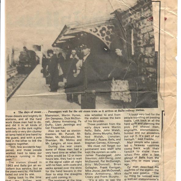 Connaught Telegraph circa 1989