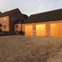 wooden garage door by Leo Security Solutions