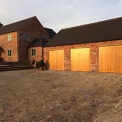 wooden garage door by Leo Security Solutions
