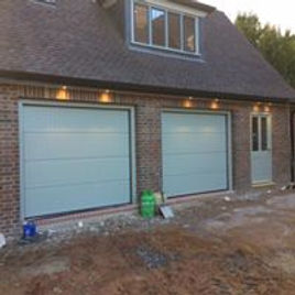 Sectional garage door by Leo Security Solutions