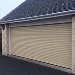 Roller garage door by Leo Security Solutions
