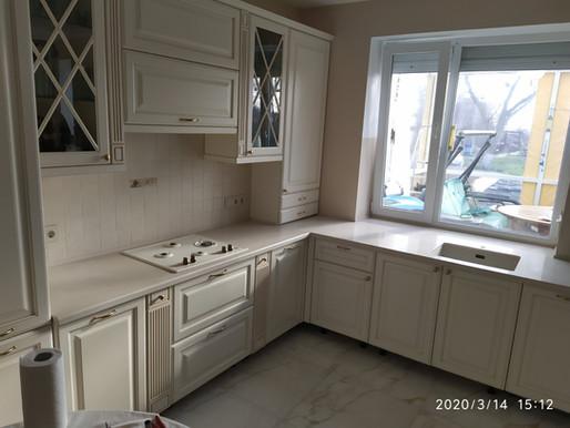 Кухонная столешница, искусственный камень BL0022