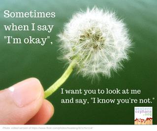 """Oh, I'm okay"""