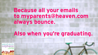 Eternity lasts a long time, also when you're graduating