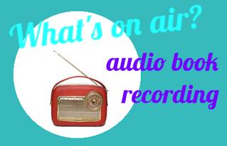 Audio book recording scheduled