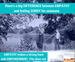 The difference between empathy and pity