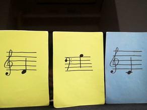 音符カードで曲づくり♪