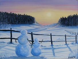 Snow Family Sunset.jpg