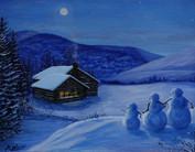 Snow Family Evening.jpg