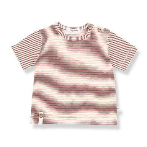 1 + in the Family - Stripe shirt