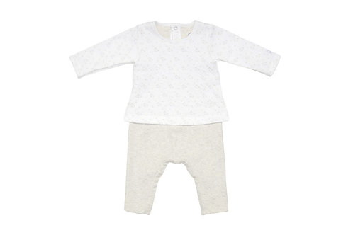 Petit Bateau - Baby Long Sleeve Coverall