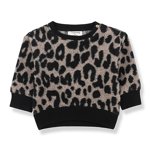 1 + in the Family -Cheetah Sweater