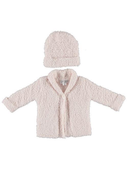 Barefoot Dreams - Cozy Sweater & Hat Set