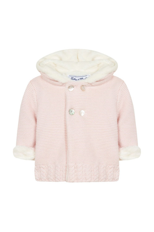 Tartine et Chocolat - Faux Fur Sweater