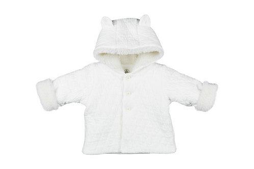 Petit Bateau - Cotton Sherpa Hooded Jacket
