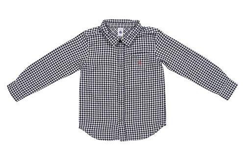 Petit Bateau - Baby Boy Check Shirt