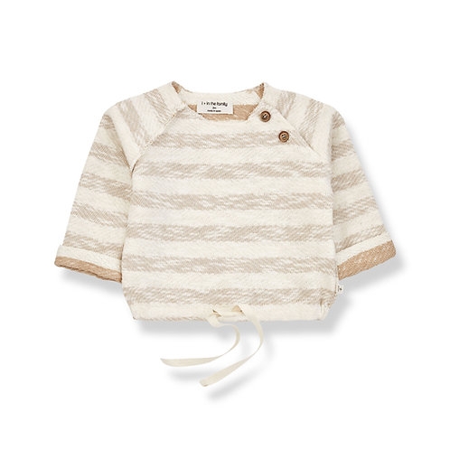 1 +in the Family - Sweatshirt w/tie bottom