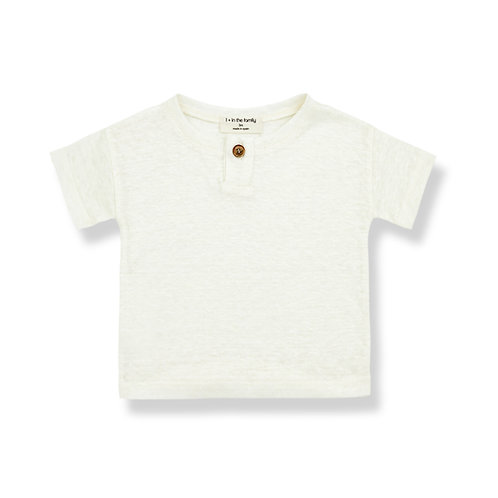 1 + in the Family - Linen shirt w/button