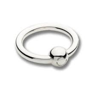 Cunill - Sterling Silver Single Ring Rattle