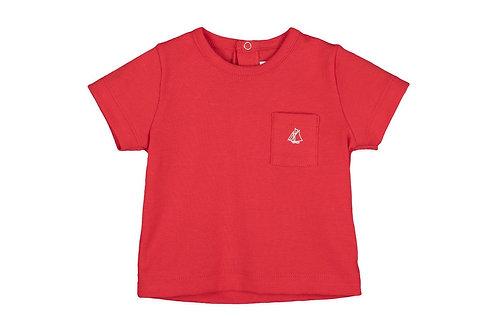 Petit Bateau - Baby Boy Short Sleeve Tee w/Pocket