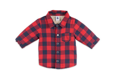 Petit Bateau - Sherpa Check Shirt