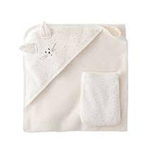 Petit Bateau - Towel/Washcloth Set
