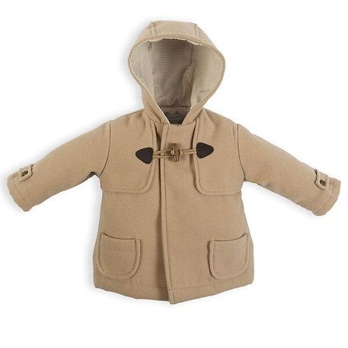 Laranjinha - Hooded Coat w/toggle Closure