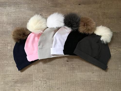 Bari Lynn - Cotton Fur Hat
